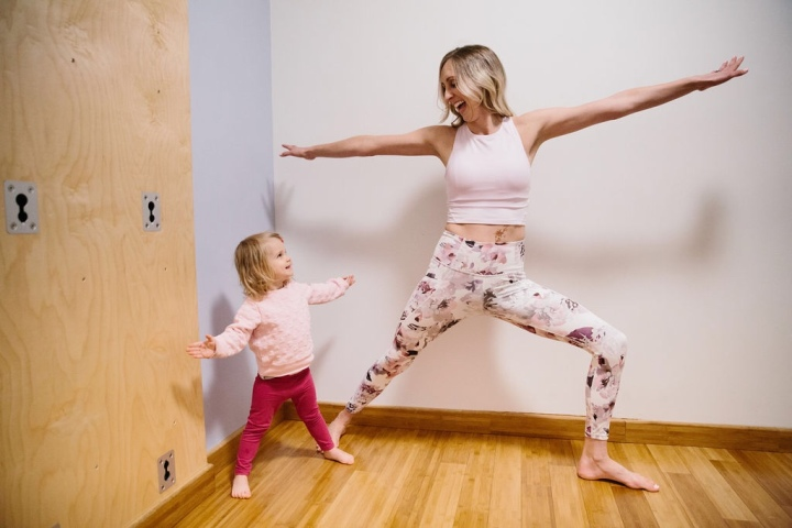 Mommy And Me Yoga Event thisweekend!