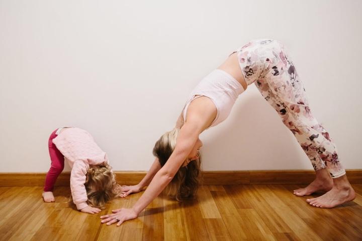 Family Yoga 2ndSunday!